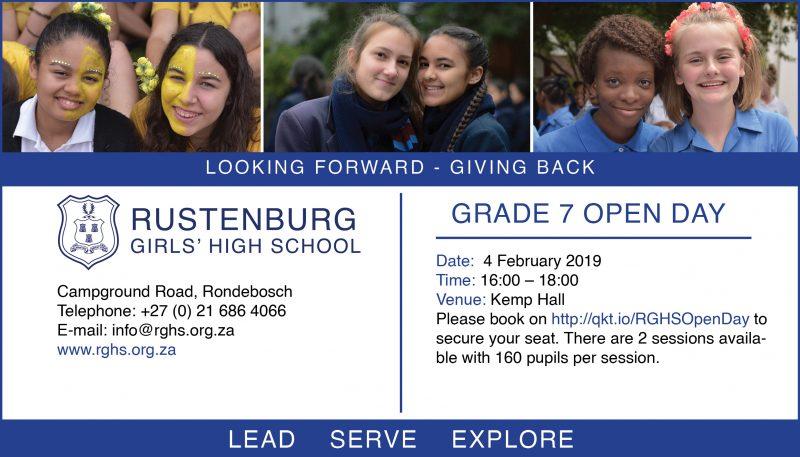 Rustenburg Grade 7 Open Day