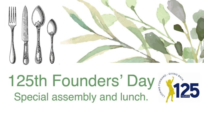 Founders Day Lunch